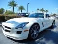 Front 3/4 View of 2012 SLS AMG