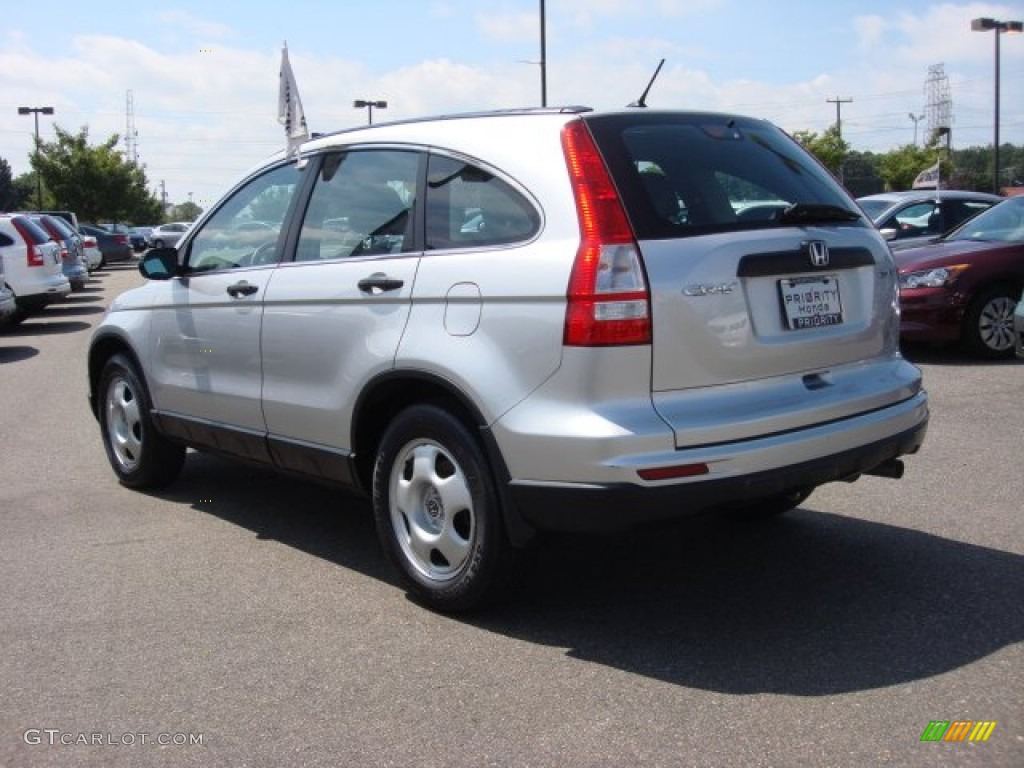 2011 CR-V LX 4WD - Alabaster Silver Metallic / Gray photo #4