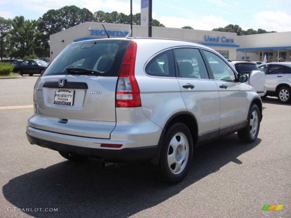 2011 CR-V LX 4WD - Alabaster Silver Metallic / Gray photo #6