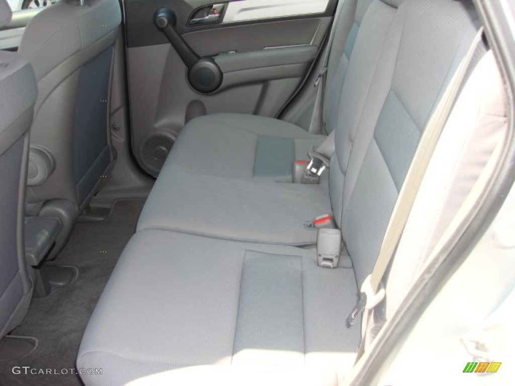 2011 CR-V LX 4WD - Alabaster Silver Metallic / Gray photo #11