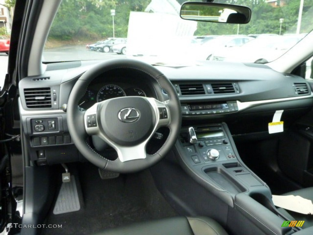 2013 obsidian black lexus ct 200h hybrid 85269653 photo