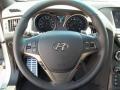 2013 Platinum Metallic Hyundai Genesis Coupe 3.8 Track  photo #17