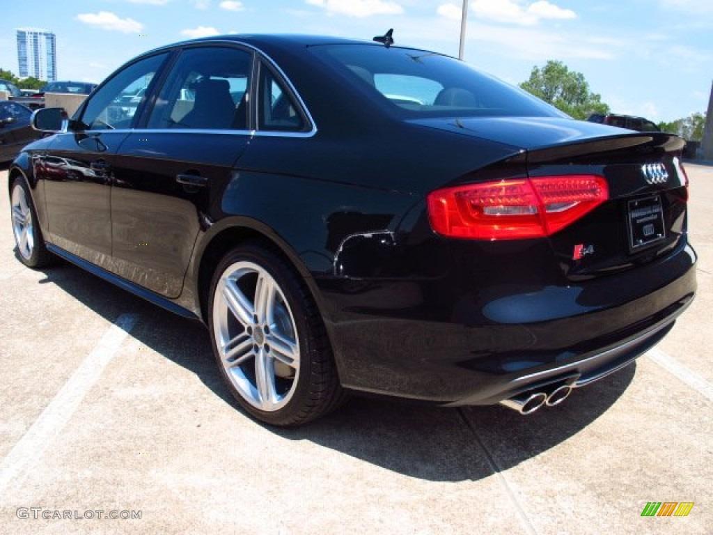 2014 S4 Premium plus 3.0 TFSI quattro - Phantom Black Pearl / Black photo #4