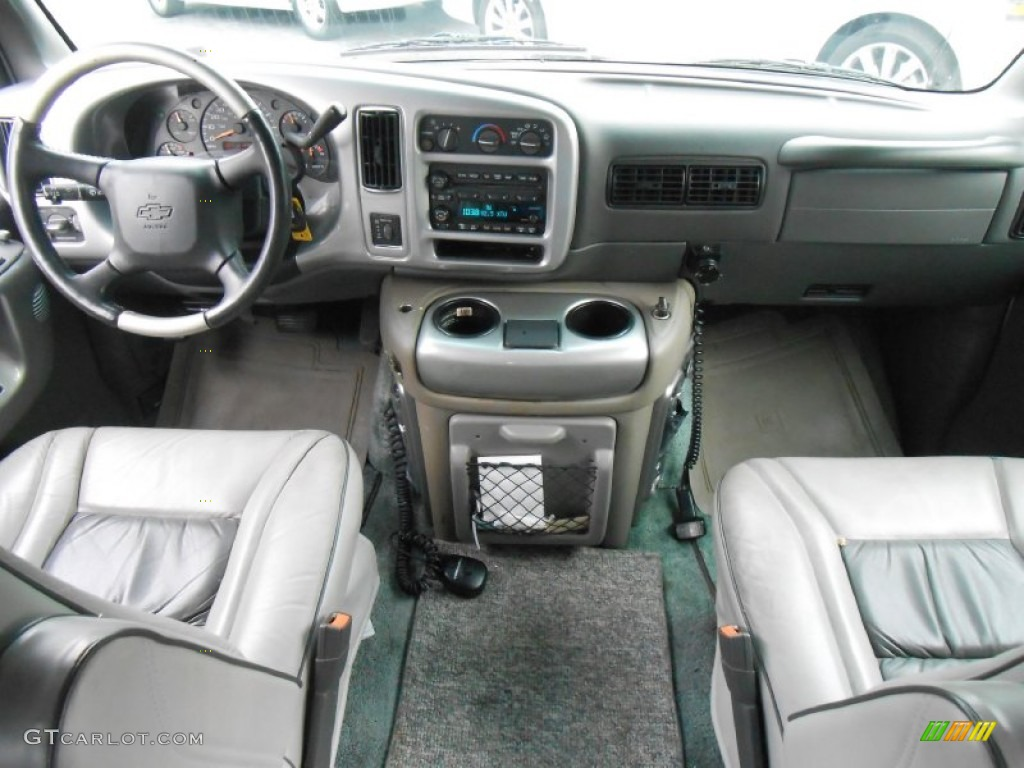 2002 chevrolet express 1500 passenger conversion van dashboard photos