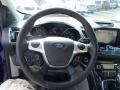 2014 Deep Impact Blue Ford Escape Titanium 2.0L EcoBoost 4WD  photo #23