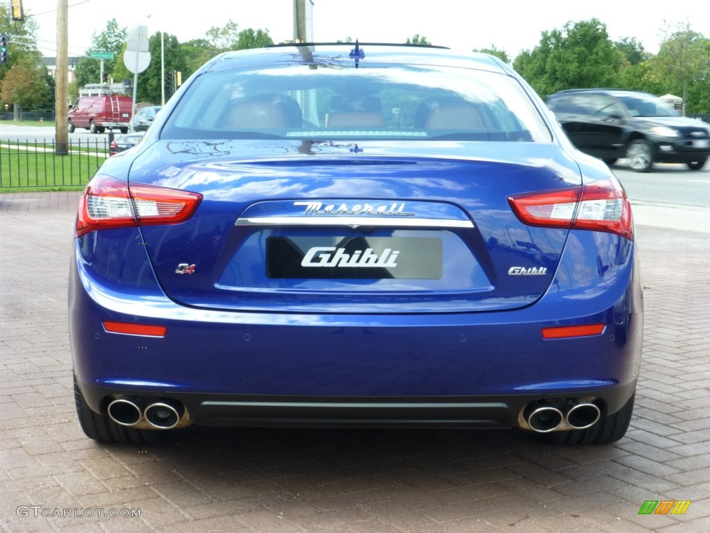 Blu Emozione Blue 2014 Maserati Ghibli S Q4 Exterior Photo 85307054