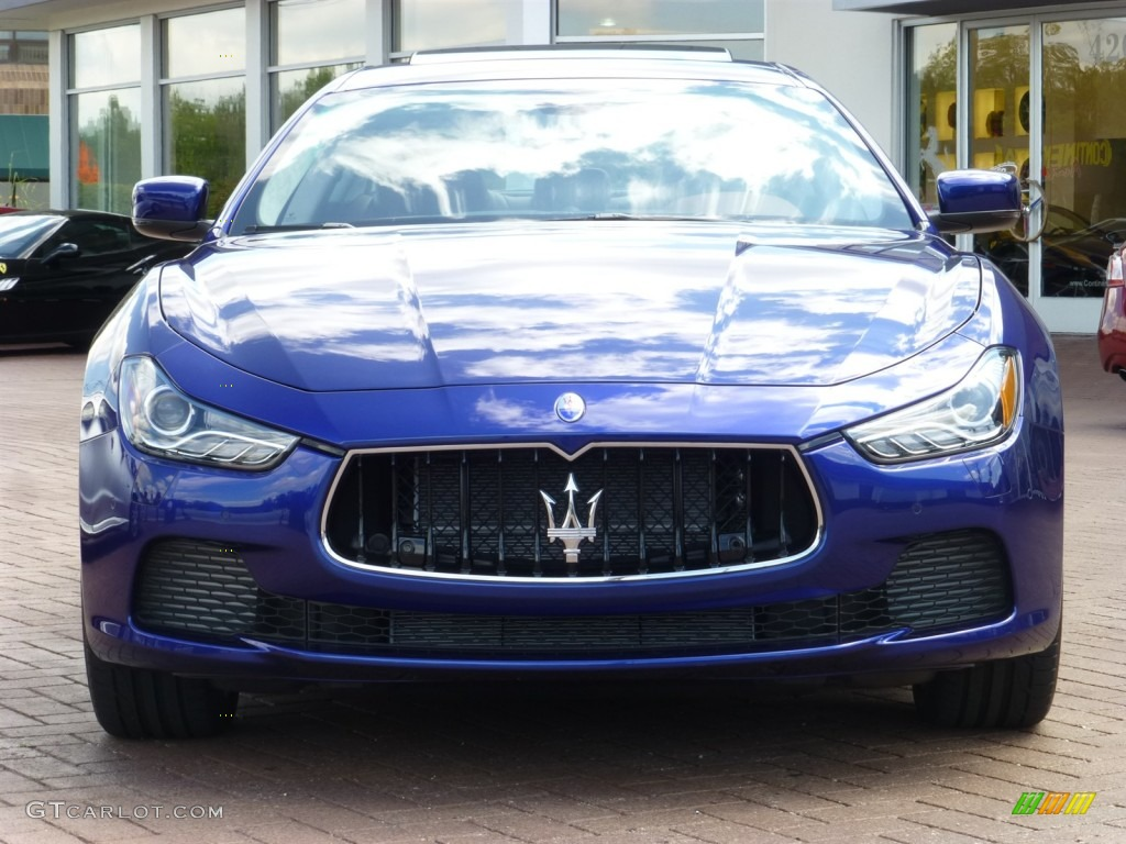 Blu Emozione Blue 2014 Maserati Ghibli S Q4 Exterior Photo 85307136
