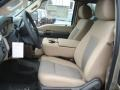 2012 Pale Adobe Metallic Ford F250 Super Duty XLT SuperCab 4x4  photo #11
