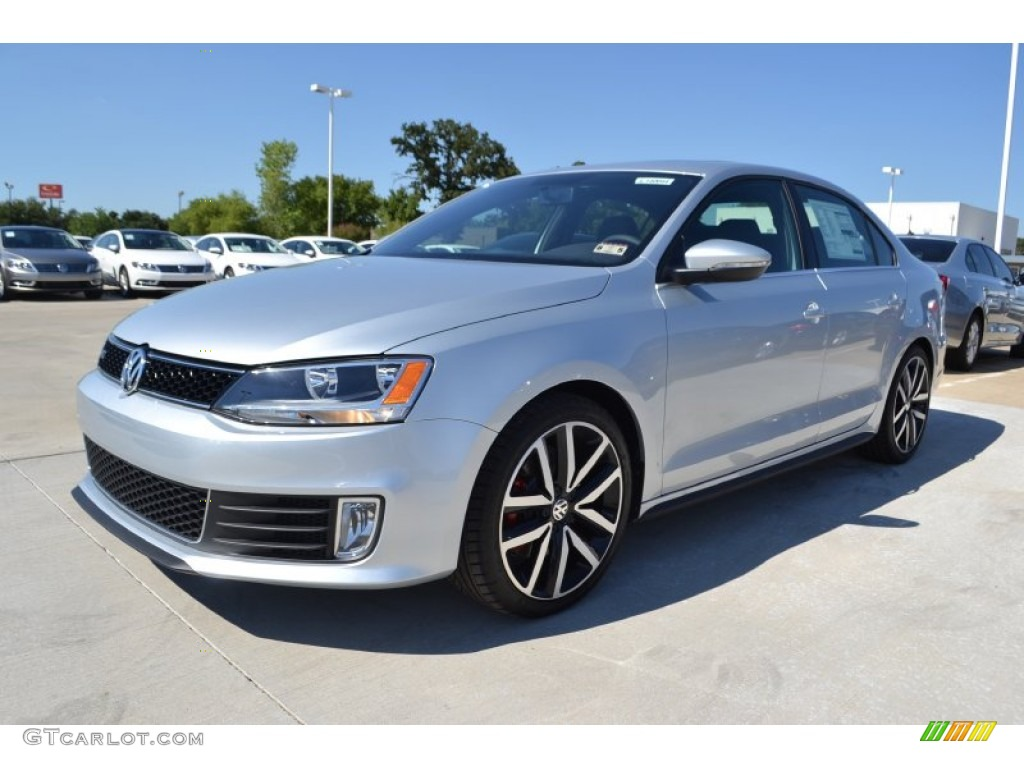 2014 Jetta GLI Autobahn - Reflex Silver Metallic / Titan Black photo #1