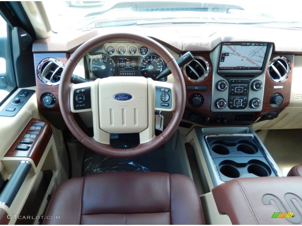 2014 Green Gem Metallic Ford F250 Super Duty King Ranch Crew Cab 4x4 85309804 Photo 8