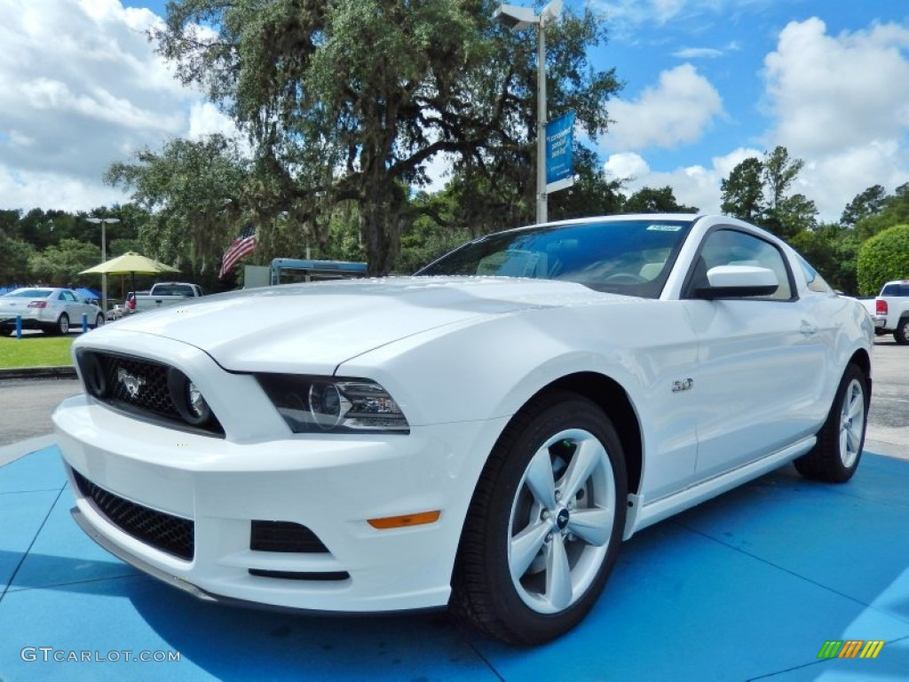 2014 oxford white ford mustang gt coupe 85309802. Black Bedroom Furniture Sets. Home Design Ideas