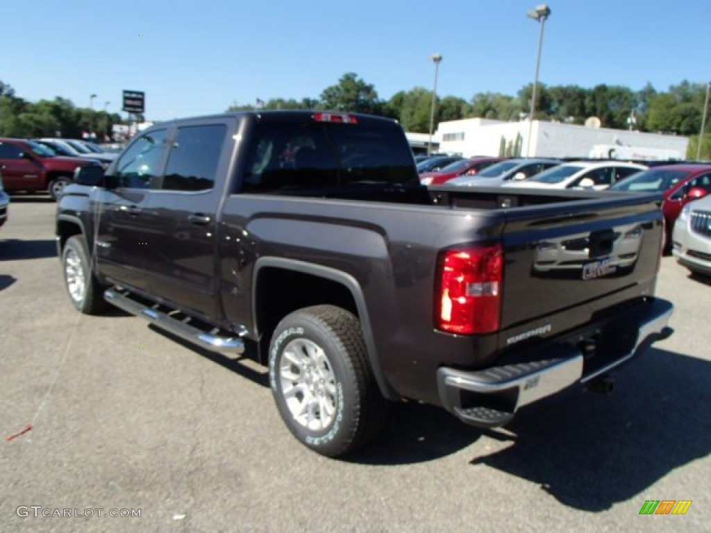 2014 iridium metallic gmc sierra 1500 sle crew cab 4x4 85309991 photo 8 car. Black Bedroom Furniture Sets. Home Design Ideas