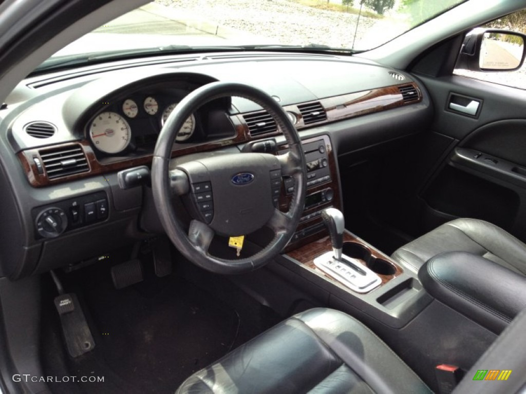 Black Interior 2005 Ford Five Hundred Limited Awd Photo
