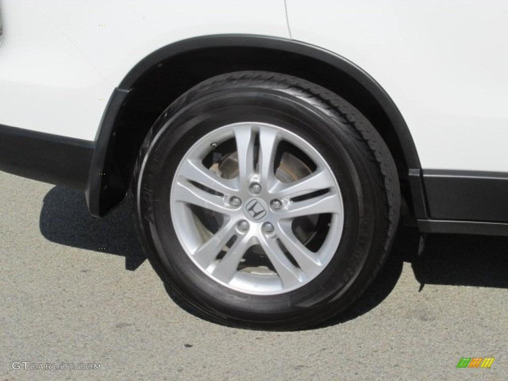 2011 CR-V EX-L 4WD - Taffeta White / Gray photo #3