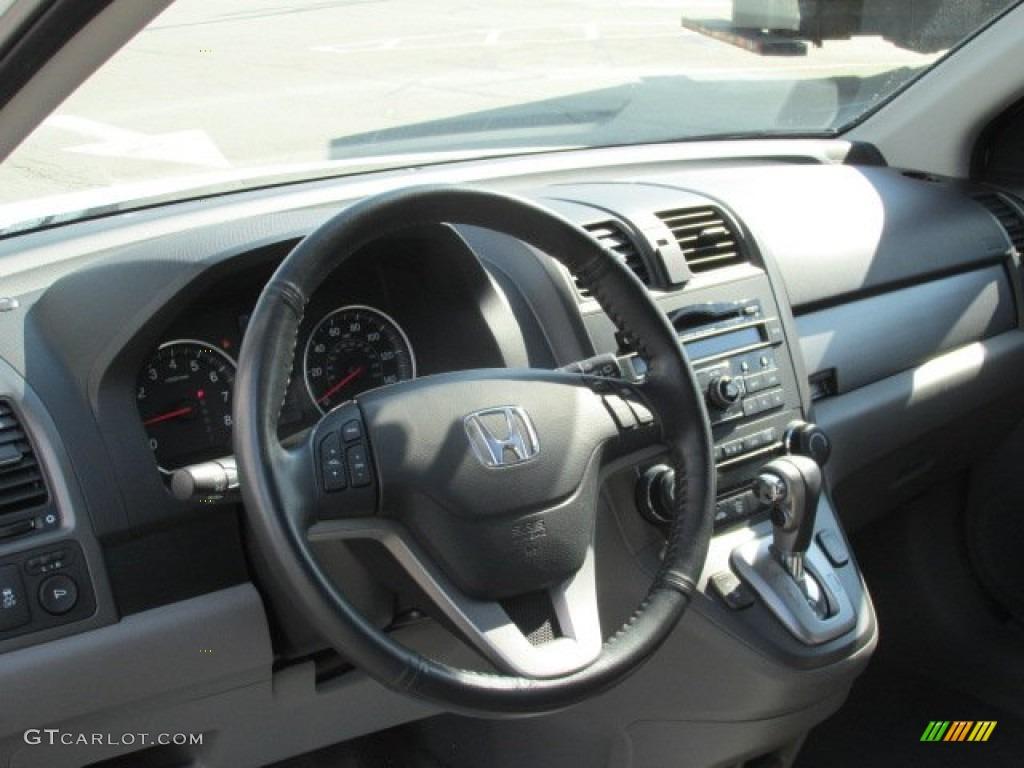 2011 CR-V EX-L 4WD - Taffeta White / Gray photo #9