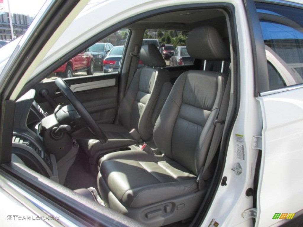 2011 CR-V EX-L 4WD - Taffeta White / Gray photo #11