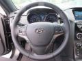 2013 Black Noir Pearl Hyundai Genesis Coupe 3.8 Grand Touring  photo #27