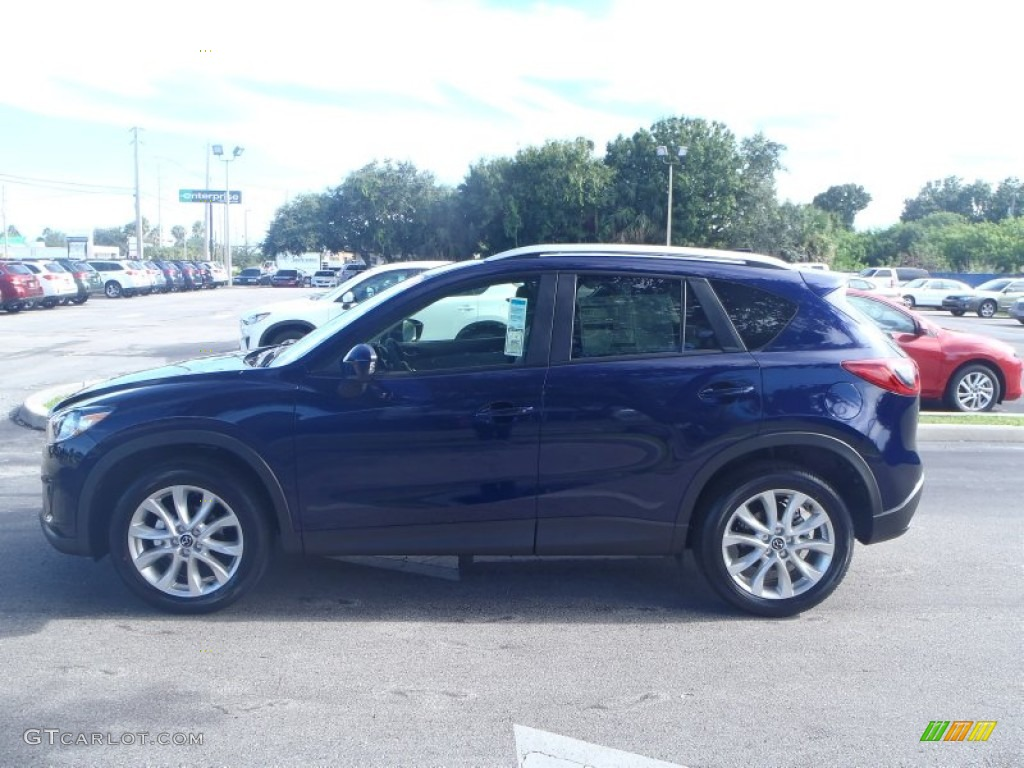 2014 stormy blue mica mazda cx 5 grand touring 85356832 photo 3 car color. Black Bedroom Furniture Sets. Home Design Ideas