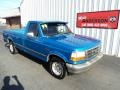 Brilliant Blue Metallic 1994 Ford F150 Gallery