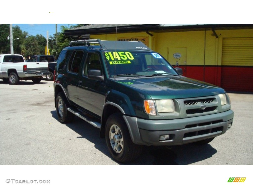 2000 alpine green metallic nissan xterra xe v6 85356509. Black Bedroom Furniture Sets. Home Design Ideas