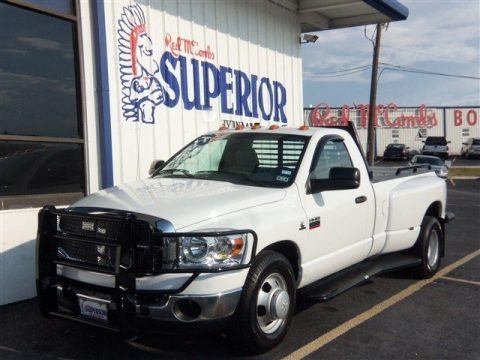 2007 Dodge Ram 3500 SLT Regular Cab Dually Data, Info and Specs