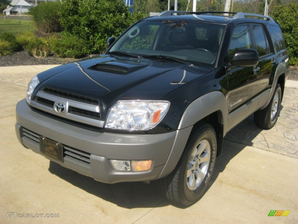 2003 black toyota 4runner sport edition 4x4 85356603 car color galleries. Black Bedroom Furniture Sets. Home Design Ideas