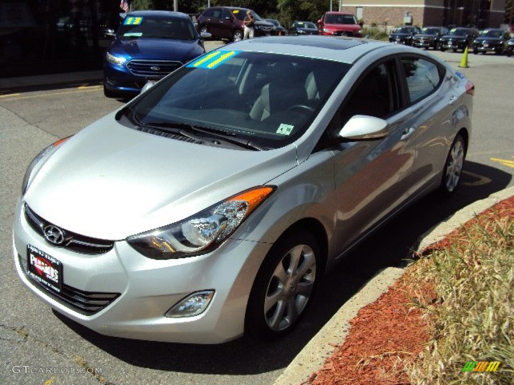 2011 Blue Sky Metallic Hyundai Elantra Limited 85356497