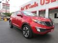 Signal Red - Sportage SX AWD Photo No. 1