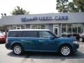 2011 Mediterranean Blue Metallic Ford Flex SEL #85356493