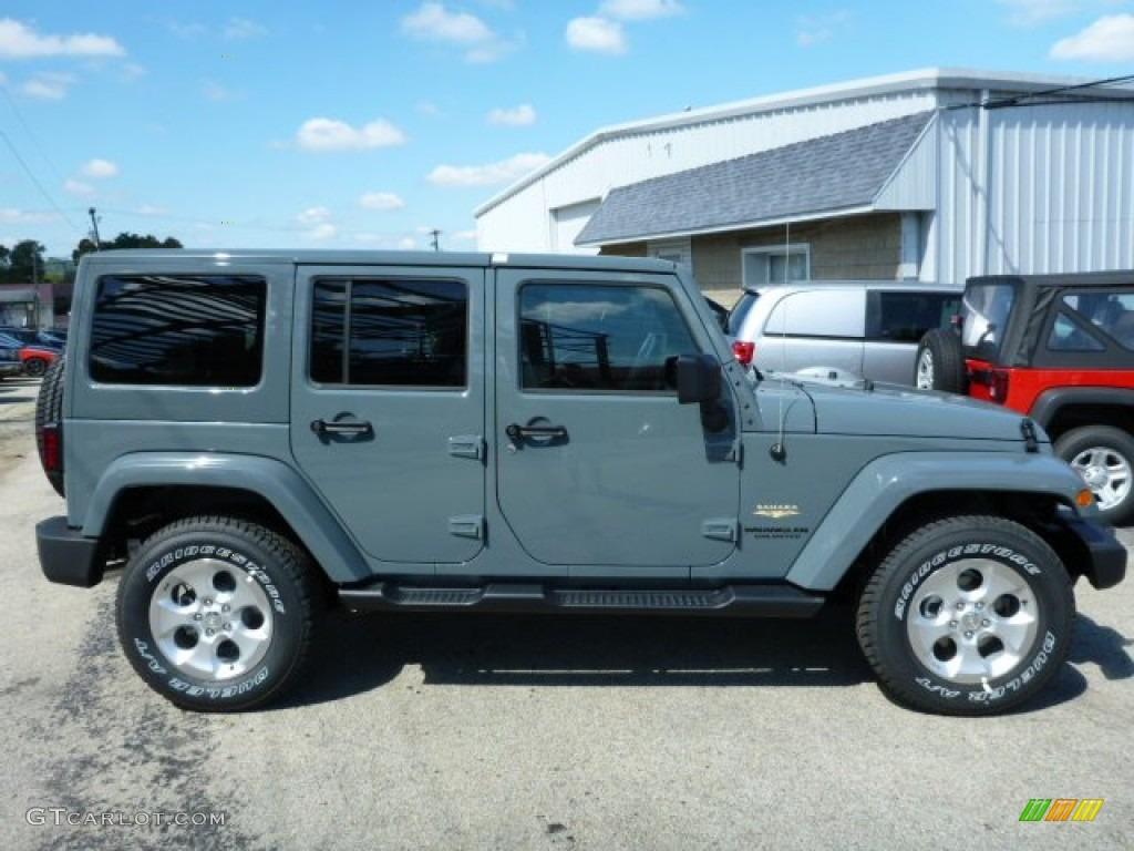 2014 Anvil Jeep Wrangler Unlimited Sahara 4x4 85356382