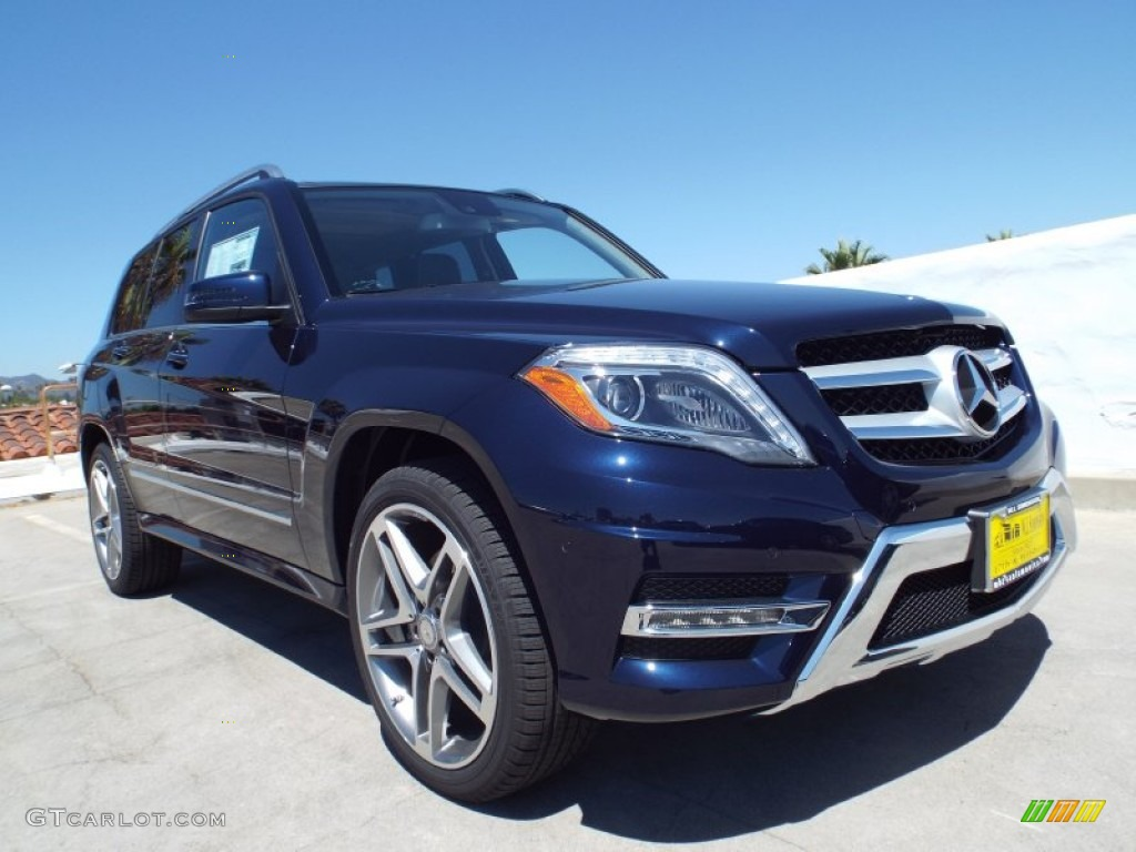 2014 lunar blue metallic mercedes benz glk 350 85356252. Black Bedroom Furniture Sets. Home Design Ideas