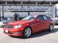 Mars Red 2014 Mercedes-Benz C 250 Sport