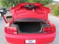 2007 Torch Red Ford Mustang V6 Deluxe Coupe  photo #10