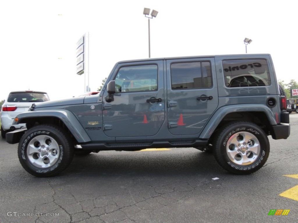 Anvil 2014 Jeep Wrangler Unlimited Sahara 4x4 Exterior