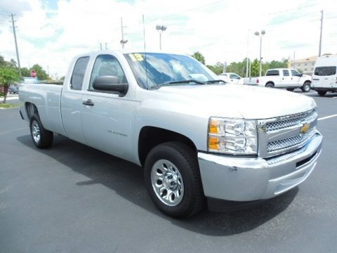 2013 Chevrolet Silverado 1500 Work Truck Extended Cab Data, Info and Specs