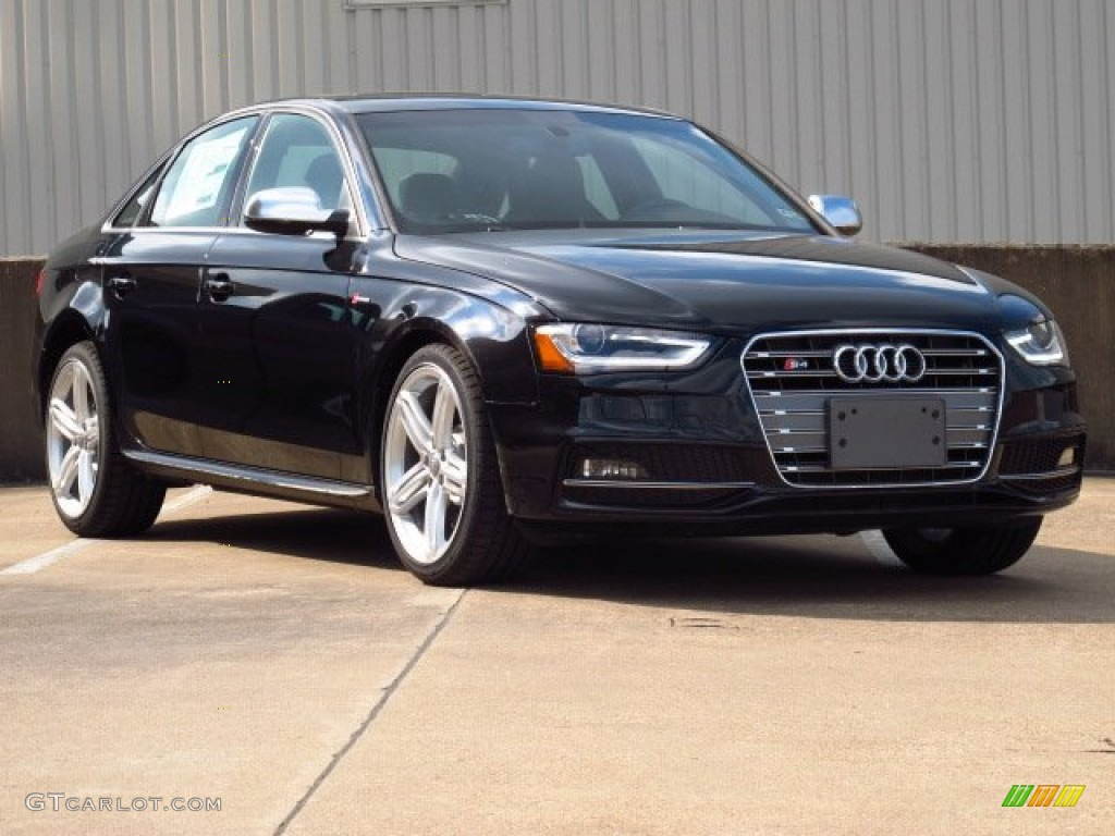 2014 S4 Premium plus 3.0 TFSI quattro - Phantom Black Pearl / Black photo #1