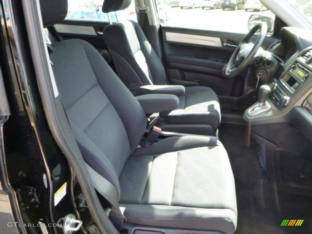 2010 CR-V LX AWD - Crystal Black Pearl / Black photo #10