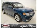 2011 Mediterranean Blue Metallic Ford Flex SEL #85356453