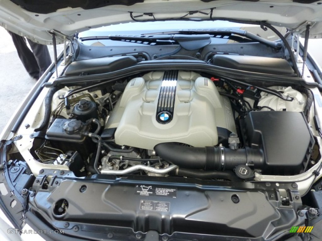 2004 BMW 5 Series 545i Sedan 4.4L DOHC 32V V8 Engine Photo ...