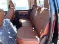 Rear Seat of 2014 1500 Laramie Longhorn Crew Cab 4x4