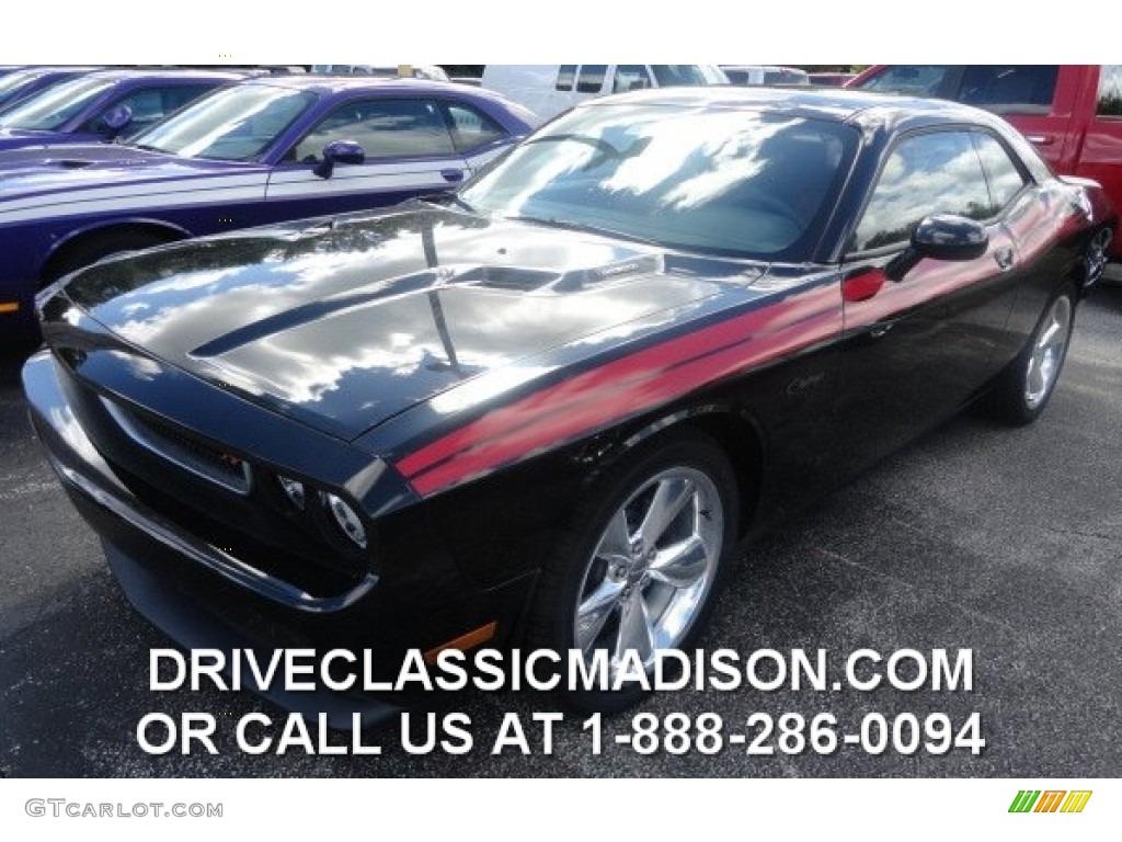 2014 Phantom Black Tri Coat Pearl Dodge Challenger R T Classic 85410213 Gtcarlot Com Car Color Galleries