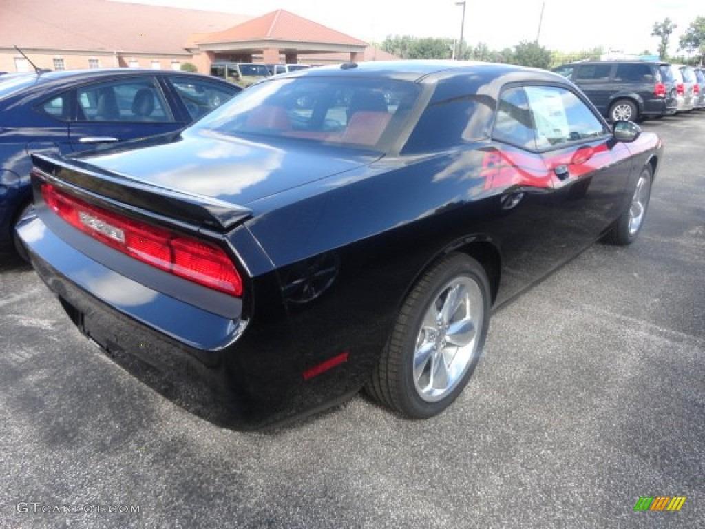2014 Phantom Black Tri Coat Pearl Dodge Challenger R T Classic 85410213 Photo 2 Gtcarlot Com Car Color Galleries