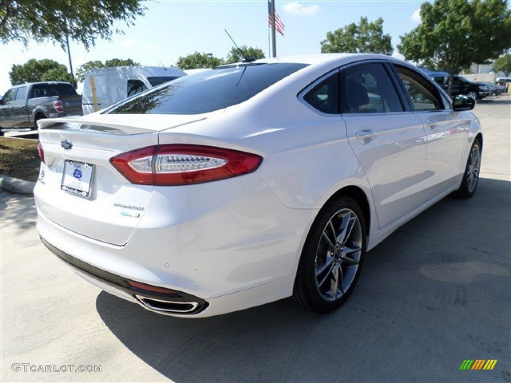 2014 White Platinum Ford Fusion Titanium 85409737 Photo