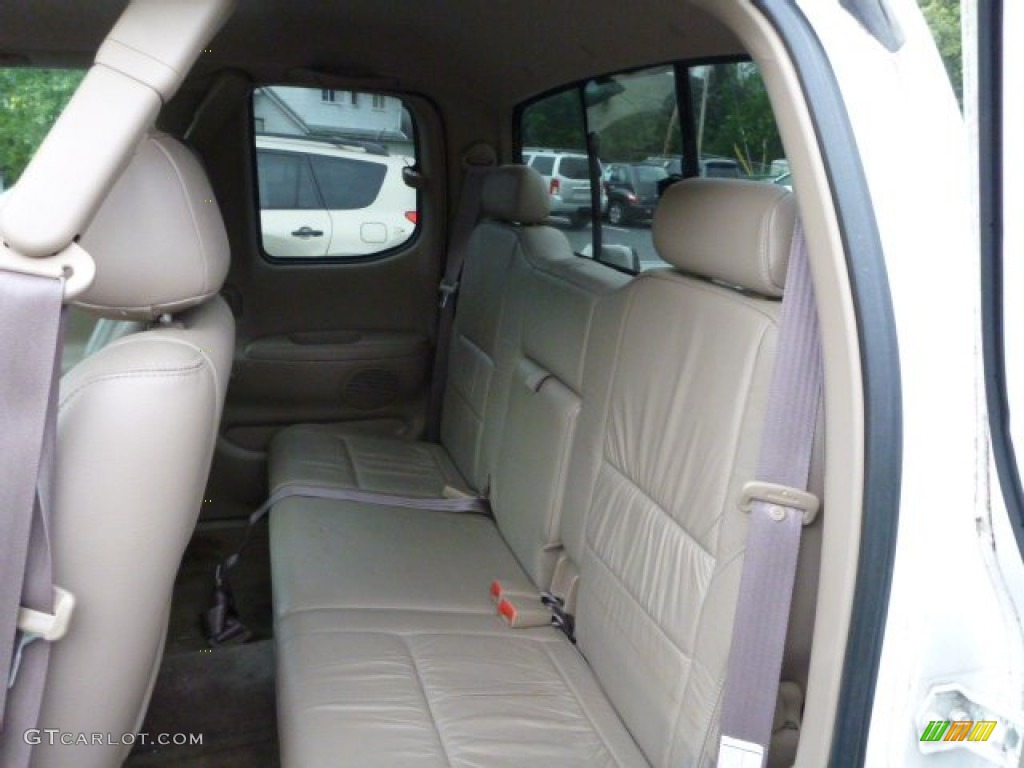 2000 Toyota Tundra Limited Extended Cab 4x4 Rear Seat