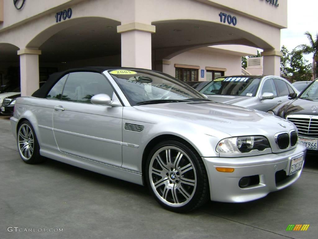 2005 Titanium Silver Metallic BMW M3 Convertible 8534253 Photo 3