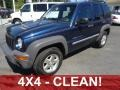 2002 Patriot Blue Pearlcoat Jeep Liberty Sport 4x4 #85409610