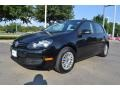 Black 2010 Volkswagen Golf 4 Door