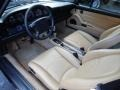 Cashmere Beige Prime Interior Photo for 1995 Porsche 911 #85467410