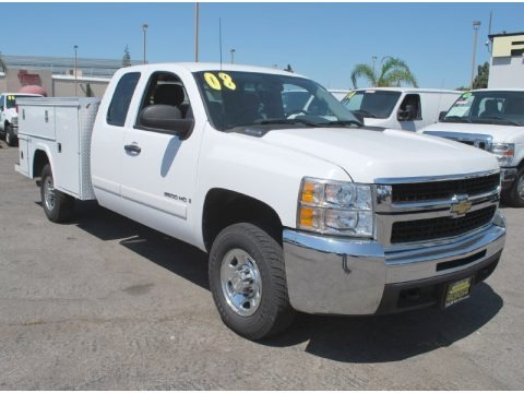 2008 chevrolet silverado 2500hd work truck extended cab 4x4 utility data info and specs. Black Bedroom Furniture Sets. Home Design Ideas