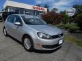 Reflex Silver Metallic 2010 Volkswagen Golf 4 Door